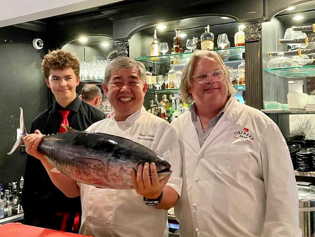 Tuna at Red Horse by David Burke