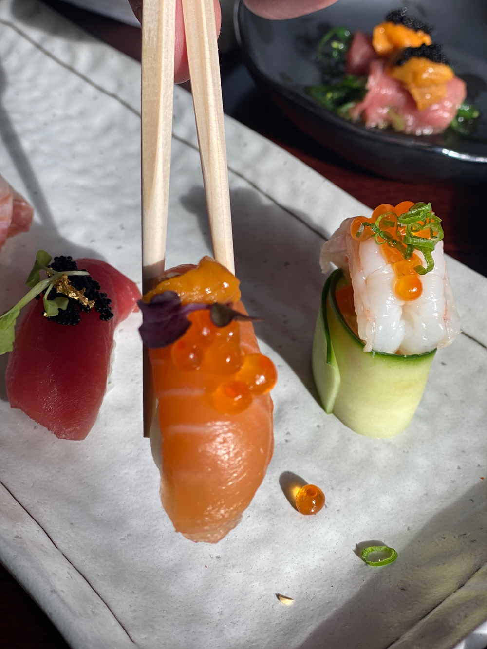 Sushi at Red Horse by David Burke